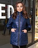 Жіноча демісезонна куртка,розміри:48-50,52-54,56-58,60-62., фото 7