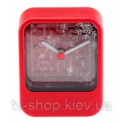 Годинник з грою Лабіринт (червоний колір)