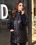 Жіноча демісезонна куртка,розміри:48-50,52-54,56-58,60-62., фото 8