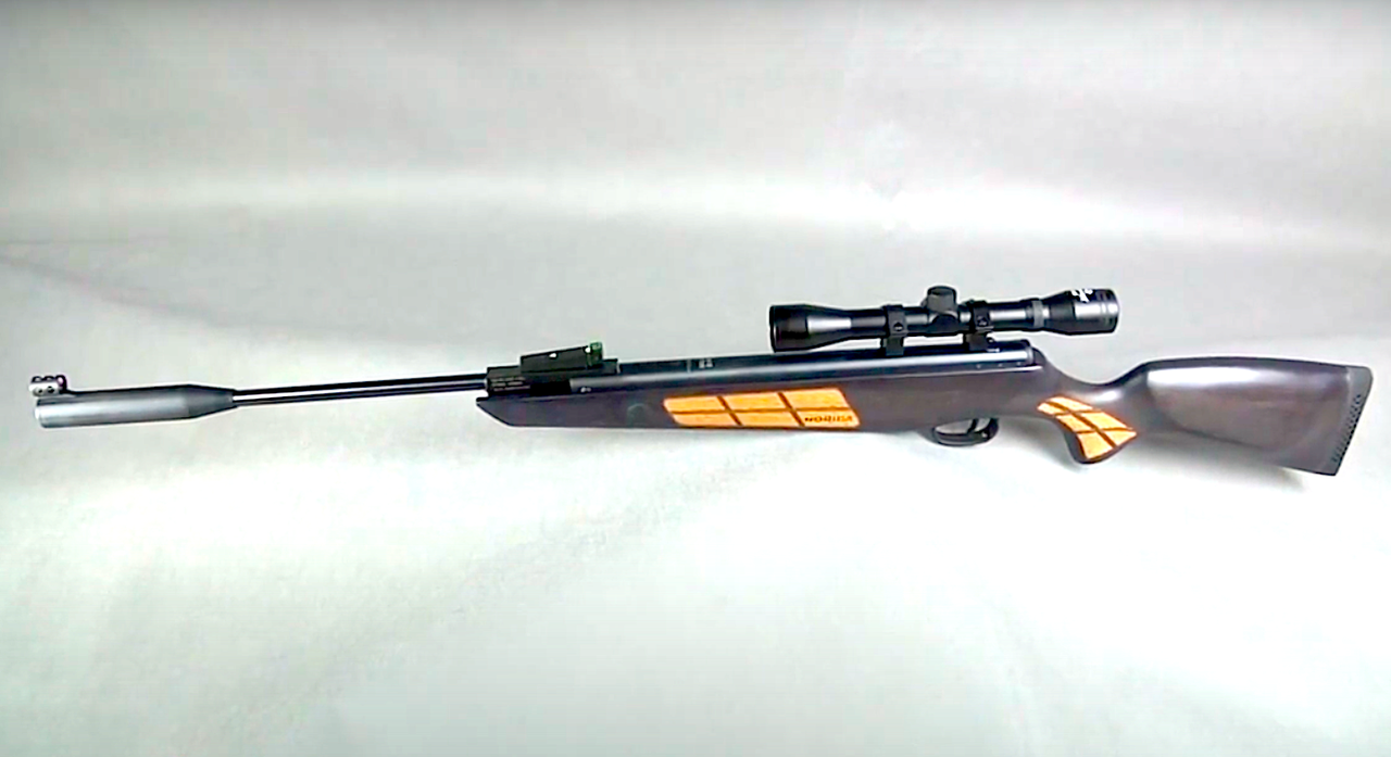 Потужна і точна пневматична гвинтівка Norica Black Eagle - GRS