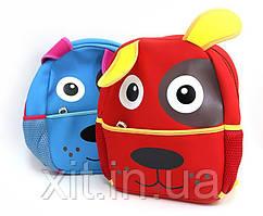 Маленький детский рюкзак Собачка. Детский рюкзак в садик. Рюкзак для садика.
