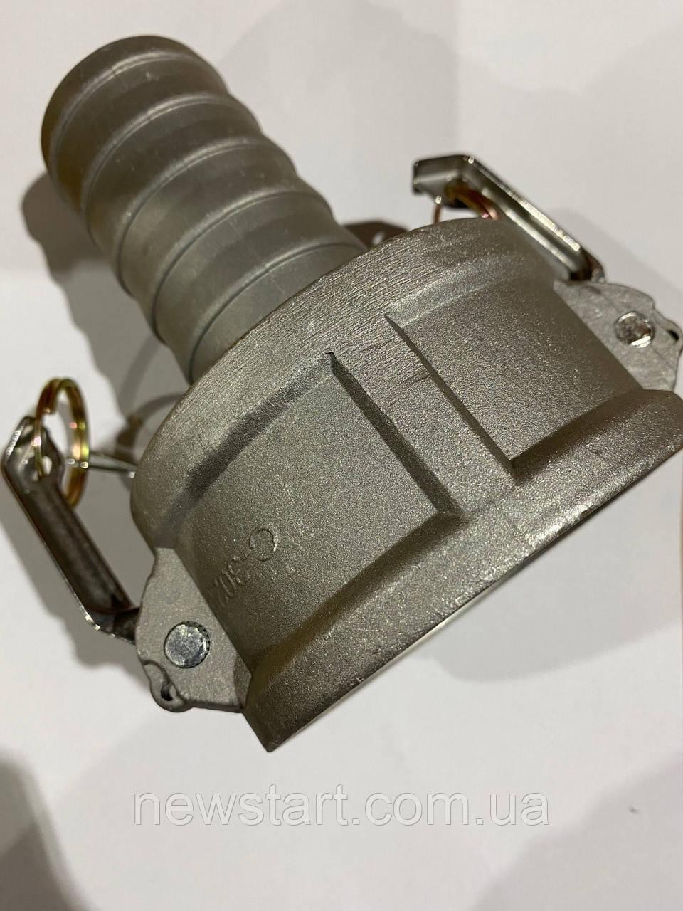 Камлок редукційний (camlock) алюміній тип CR