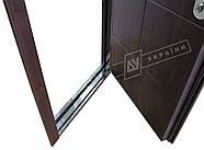 Входные двери ТМ Двери Украины серии БС модель Кейс (комплектация KALE), фото 2