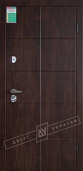 Входные двери ТМ Двери Украины серии БС модель Кейс (комплектация KALE)