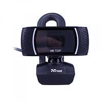 Веб-камера 1.3 Мп з мікрофоном Trust Trino HD Black, фото 1