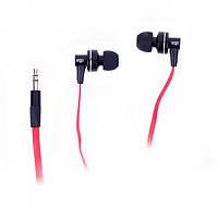 Навушники вакуумні провідні без мікрофона Ergo ES-900 Black
