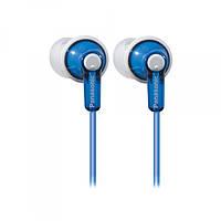 Навушники вакуумні провідні без мікрофона Panasonic RP-HJE118GU-A Blue