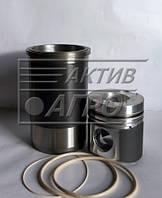 Поршнекомплект КамАЗ-740 (гильза, поршень с рассекателем и нирезист. вставкой упл.к)