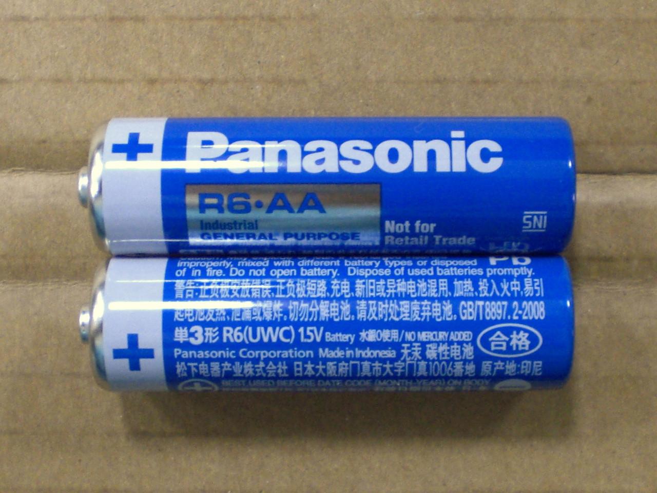 Батарейки PANASONIC R6, АА