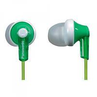 Навушники вакуумні провідні без мікрофона Panasonic RP-HJE118GU-G Green