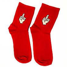 Яркие красочные носки с принтом фуск Neseli Coraplar размер 37-43