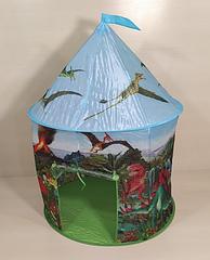 """Детская палатка для мальчика """"Планета динозавров"""" MR 0374 (домик-палатка, игровой домик)"""