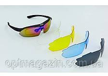 Очки тактические Oakley с поляризацией и сменными линзами, фото 2