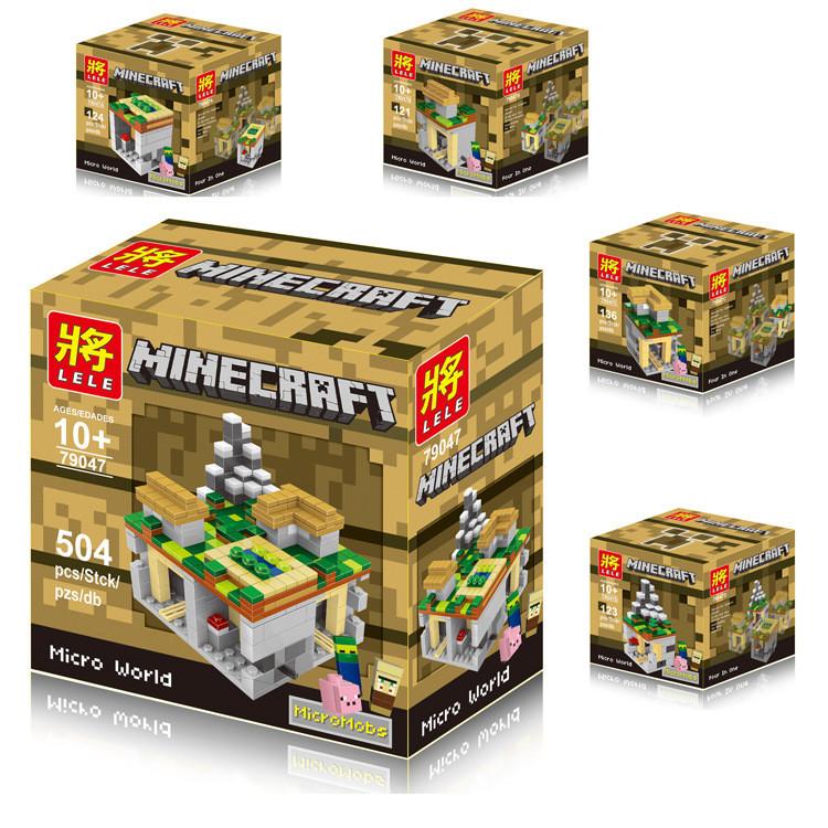 Конструктор Майнкрафт/Minecraft LELE 79047, 504 детали