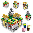 Конструктор Майнкрафт/Minecraft LELE 79047, 504 детали, фото 3