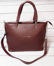 Женская сумка Mісhаеl Коrs, в стиле Майкл Корс MK, бордовая ( код: IBG193KR )