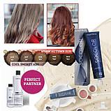 508Bc (светлый блондин коричнево-медный) Стойкая крем-краска для седых волос Matrix SocolorExtra Coverage,90ml, фото 9