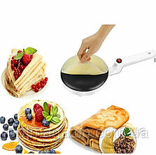 Погружная электрическая сковорода для блинов 20 см блинница Sinbo, фото 2