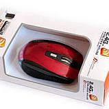 Мишка комп'ютерна Mouse Wireless G109 бездротова з USB, фото 2