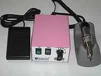 Фрезерная машинка для профессионального маникюра педикюра Salon Professinal   SP 365 (розовый)  США- Юж.Корея