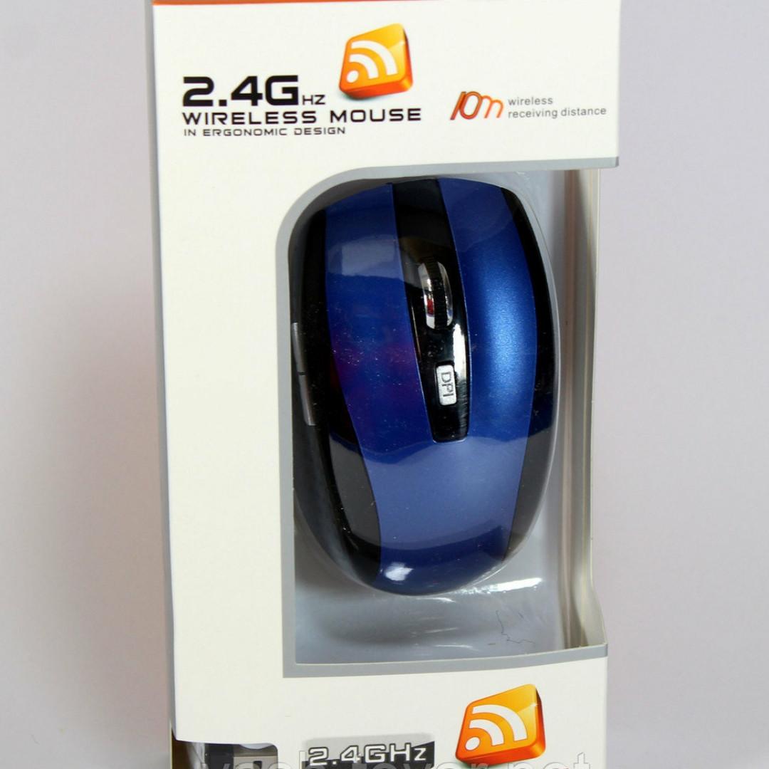 Мишка комп'ютерна Mouse Wireless G109 бездротова з USB