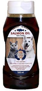 Лососевое масло для кошек   Salmon Oil 500 мл