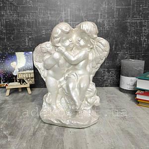 Декор для інтер'єру Янголята пара на каменях 38 см