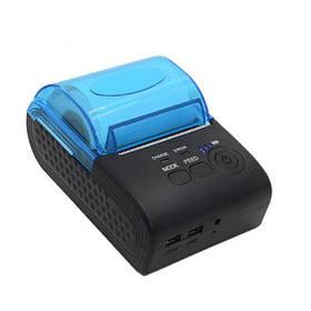 Термопринтер мобильный для чеков HLV Mini ZJ-5805DD 58мм Bluetooth