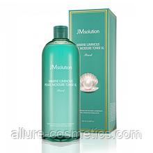Глубокоувлажняющий тонер з перлами JMsolution Marine Luminous Pearl moisture toner XL 600ml
