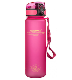 Бутылка для воды Uzspace 3026 500 мл Pink