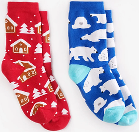 Шкарпетки дитячі Dodo Socks Eskimo 2-3 роки, набір 2 пари