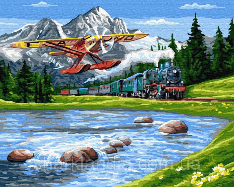 Картина за номерами Brushme Мандрівка в гори GX33234