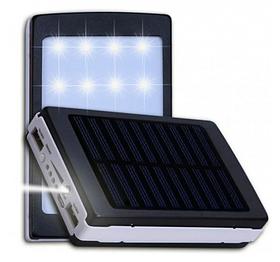 УМБ портативное зарядное Power Bank Solar UKC 90000 mAh с LED фонарём на солнечной батарее