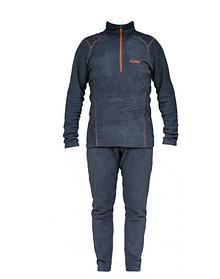 Костюм флисовый Tramp TRUF-003-grey-XXL Comfort Fleece Gray