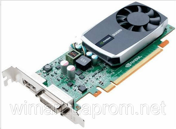 Б/У Видеокарта PNY Quadro 600 / 1GB / DVI DP