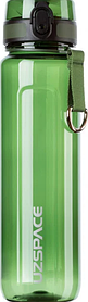Бутылка для воды UZSPACE 6022 Twisted 1.5 л Green