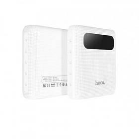 УМБ портативное зарядное Power Bank Hoco B20 10000 mAh White