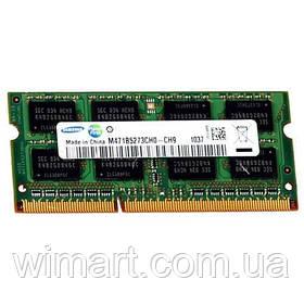 Оперативна пам'ять SoDIMM Samsung DDR3 4GB PC 1600 original 1.35 V