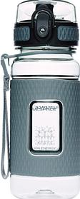 Бутылка для воды спортивная UZspace Diamond 5043 370 мл Grey