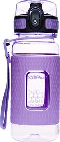 Бутылка для воды спортивная UZspace Diamond 5043 370 мл Purple