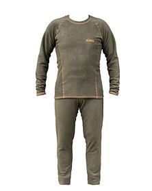 Костюм флисовый Tramp TRUF-002-green-XL Comfort Fleece Green