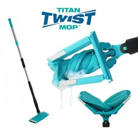 Швабра універсальна з віджимом Titan Twist Mop 6757 Blue