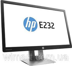 """Монітор HP EliteDisplay E232 Діагональ екрану 23"""" дозвіл 1920x1080 IPS VGA HDMI, DP Б/У"""
