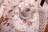 Скатерть Праздничная с Кружевом 130-175 «Beautiful» Овальная №12, фото 2