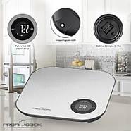 Весы кухонные с Bluetooth ProfiCook PC-KW 1158 BT, фото 2