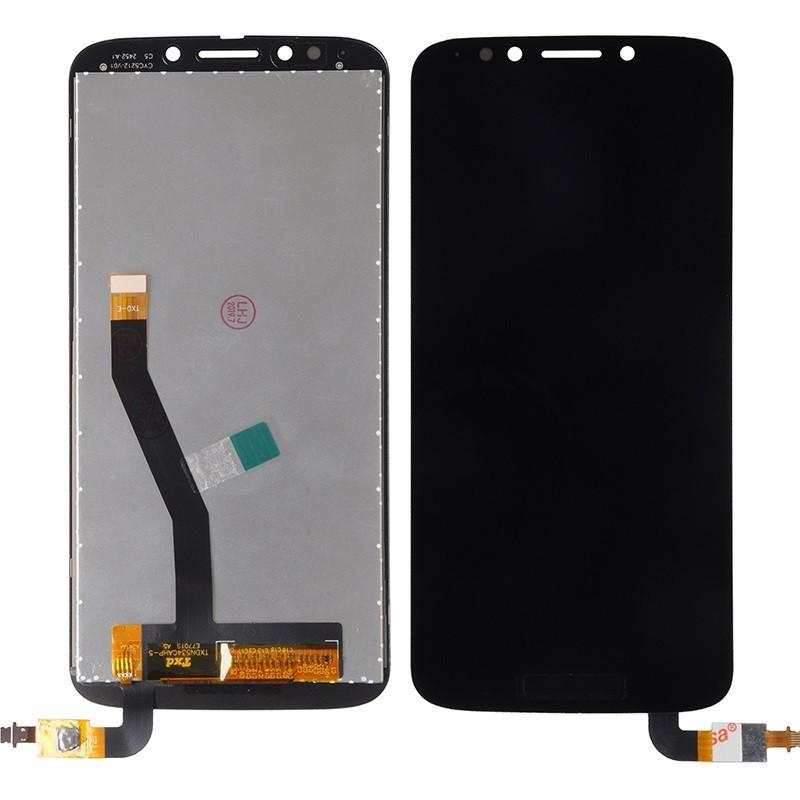 Дисплей для Motorola XT1921-16 Moto E5 Play Go Edition с тачскрином, черный