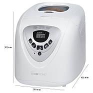 Автоматическая хлебопечка Clatronic BBA 3505, фото 8