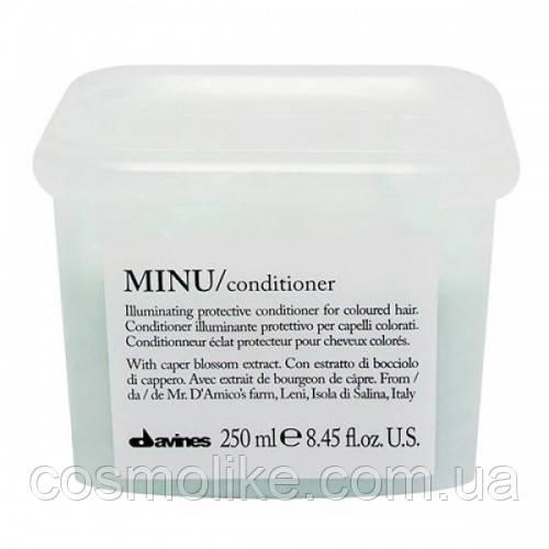 Davines Кондиціонер для додання блиску і захисту кольору волосся Minu Conditioner