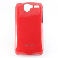 Чехол-накладка для HTC Desire, A8181, G7, пластиковый, Buble Pack, Малиновый /case/кейс /штс