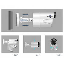 Комплект видеонаблюдения 4K POE Hiseeu POEKIT-4HB615 на 8 камер 5MP и регистратор + провода и все для монтажа, фото 2